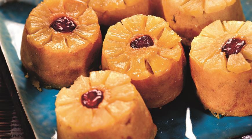Рецепт Кексы с ананасами