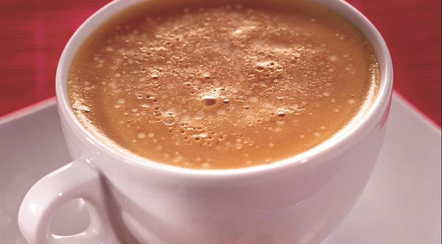 Рецепт Кофе латте с ванилью и шоколадом