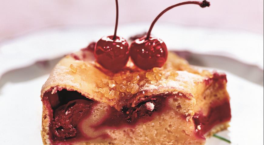 Рецепт Вишневый пирог