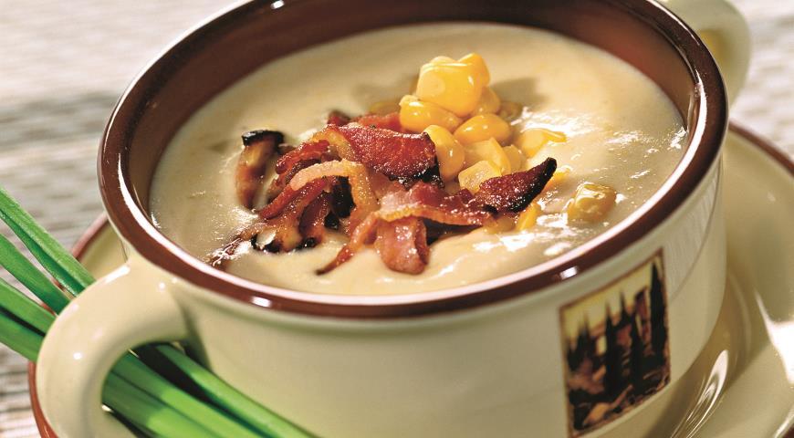 Рецепт Суп-крем из кукурузы