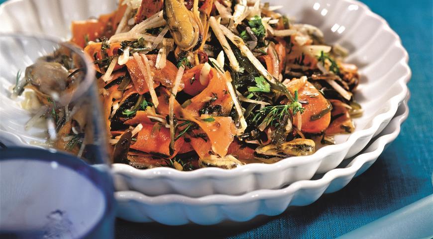 Рецепт Салат из морской капусты