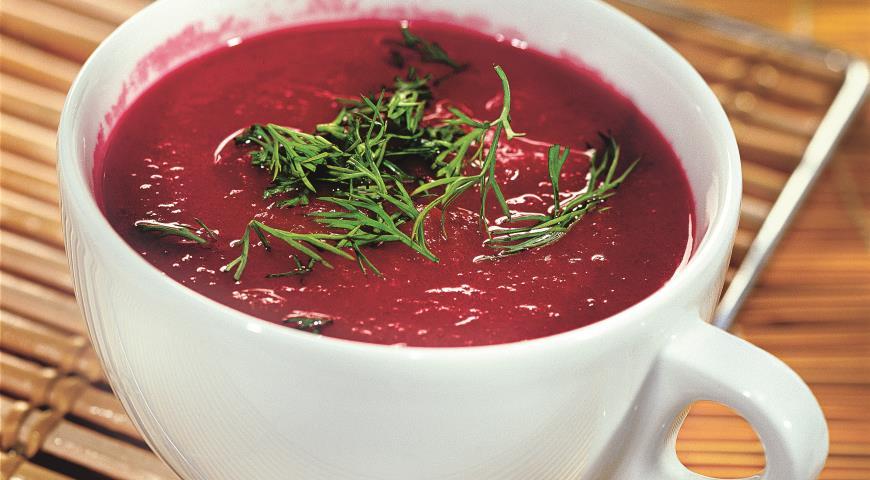найти рецепт суп свекольник
