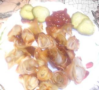 Рецепт Картофельные розочки