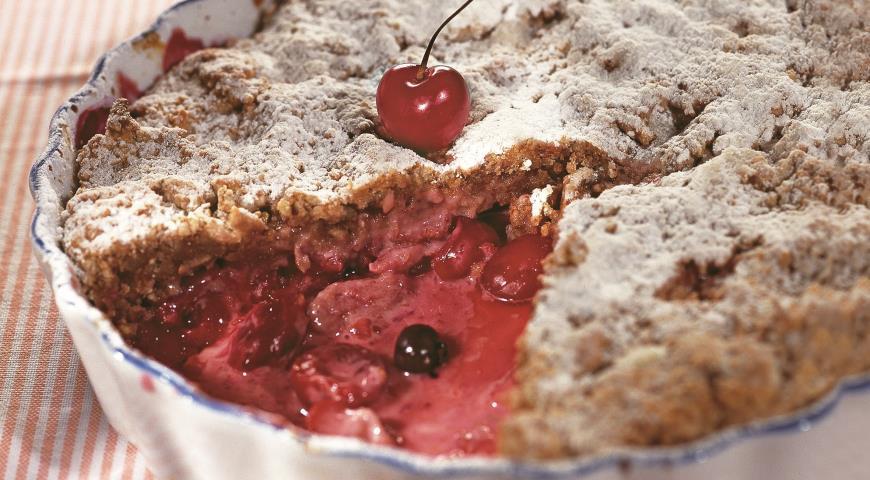 Рецепт Пирог со сдобной крошкой