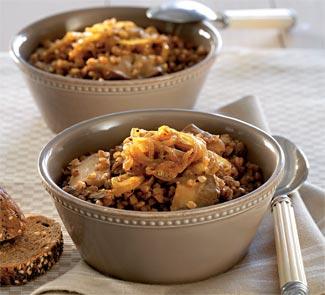 Рецепт Гречневая каша с берберской смесью