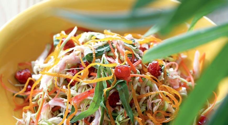 Рецепт Салат диетический капустный