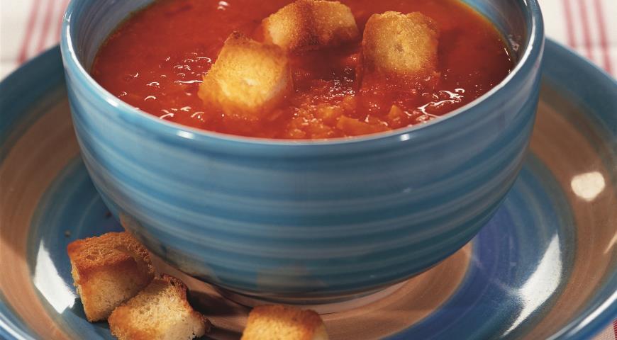 Как приготовить томатный суп в домашних условиях 901