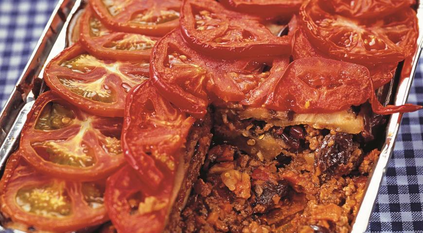 Рецепт Рагу с баклажанами по-мароккански