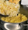 Курица с пшеном и кислой капустой. Шаг 3