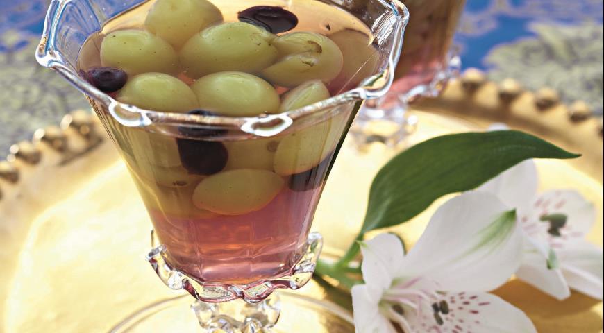 Рецепт Виноградное желе с хересом