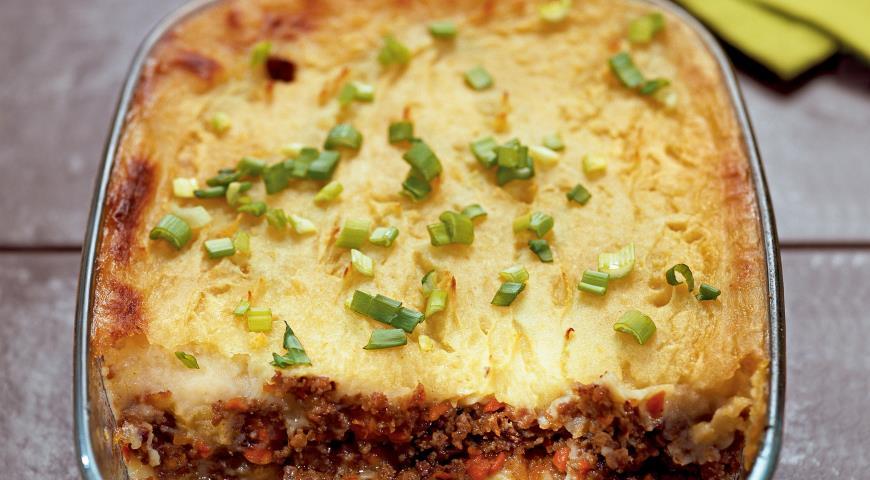 Картофельная запеканка с мясом, пошаговый рецепт с фото