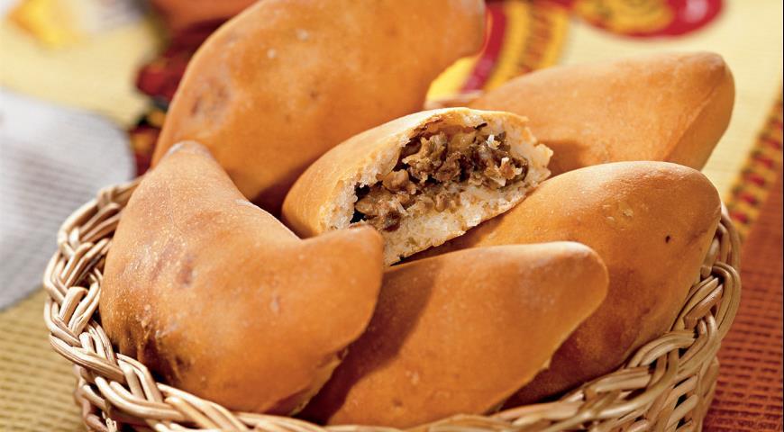 Рецепт Пирожки с куриной печенкой