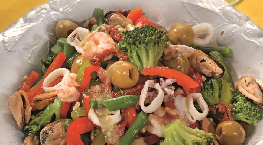 морепродукты рецепты приготовления с овощами