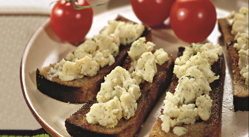 Рецепт Скордалия, греческая чесночная закуска