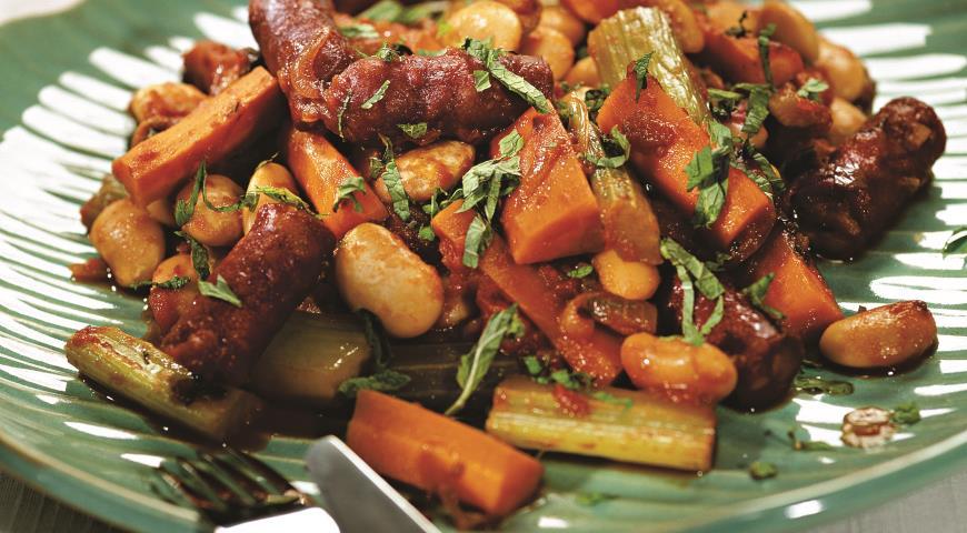 Рецепт Марокканское рагу с колбасками