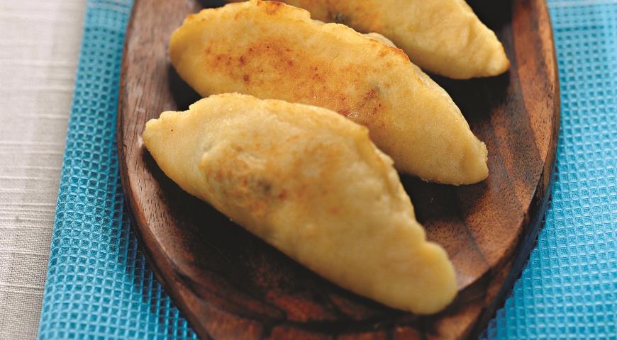 Рецепт Картофельные пирожки с черносливом