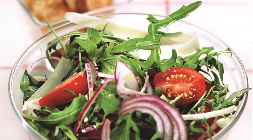 Рецепт Салат с рукколой