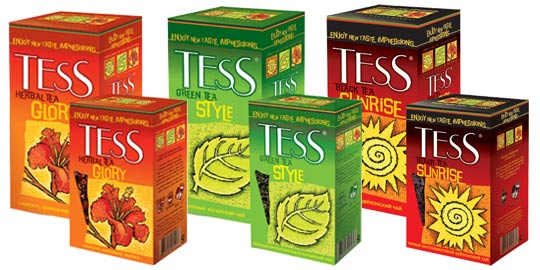 Коллекция чая Tess