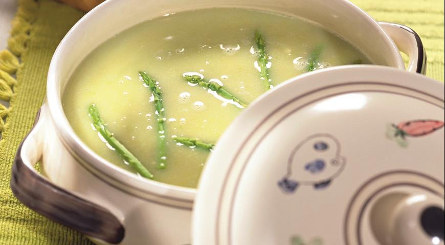 Рецепт Крем-суп из спаржи
