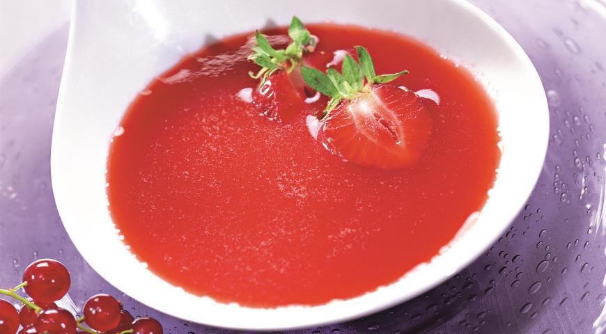 Рецепт Клубничный суп