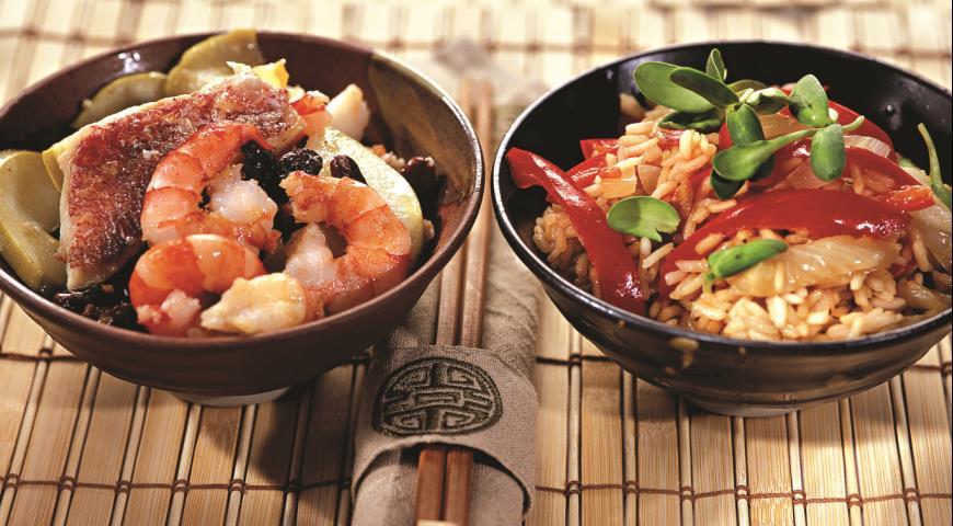 Рецепт Морской окунь в китайском стиле