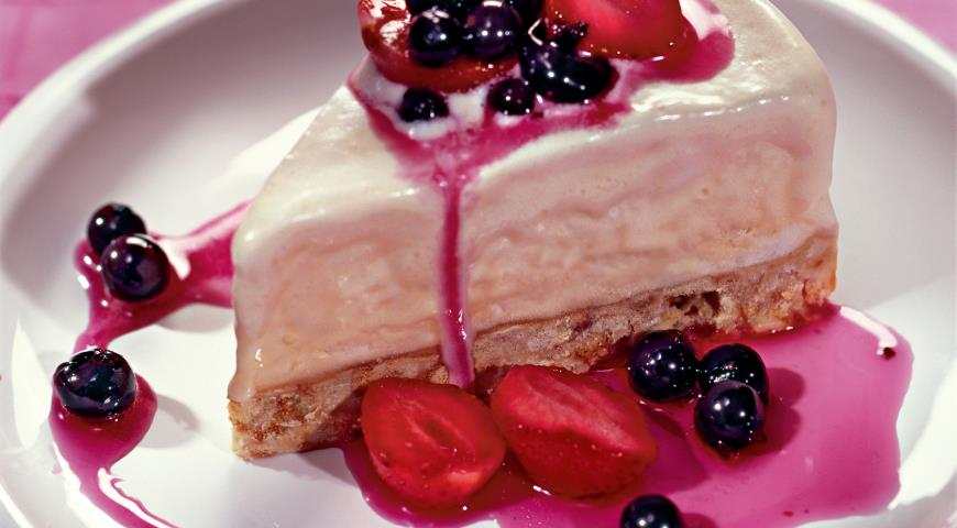 Рецепт Торт-парфе с «амаретто»