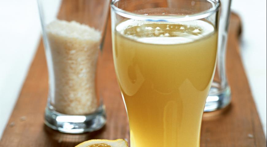 Рецепт Лимонный квас