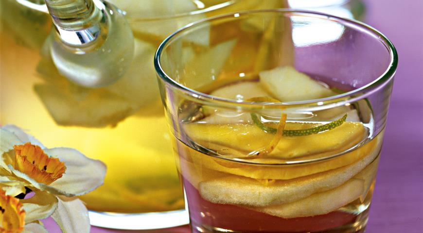 Рецепт Пунш из белого вина