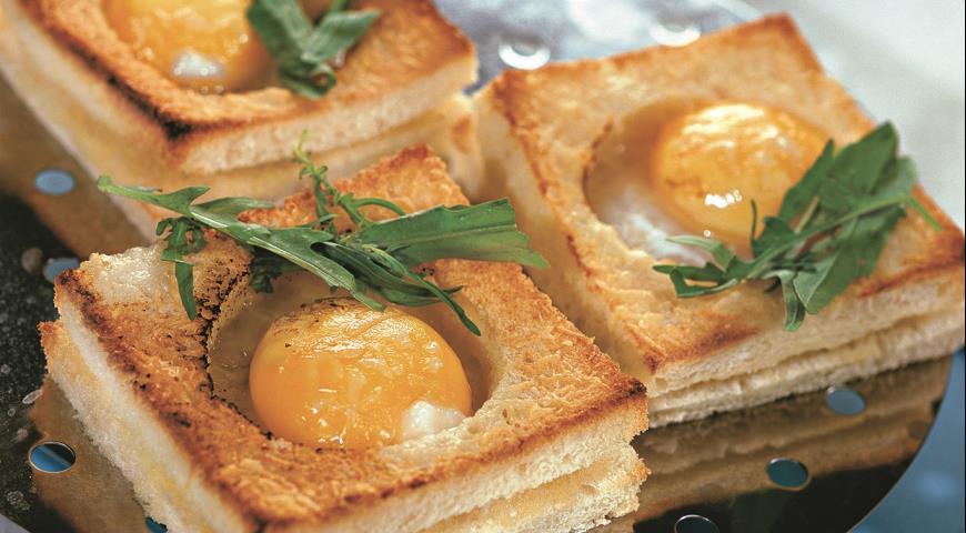 Рецепт Горячая закуска из яиц