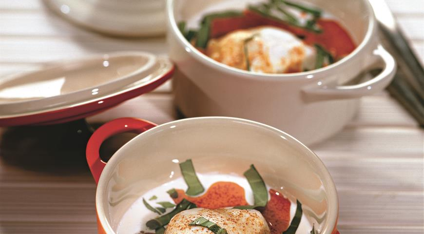 Рецепт Яйца по-турецки