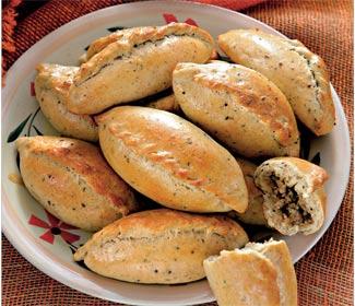 Рецепт Пирожки из пряного теста с мясом