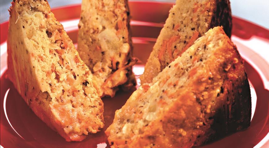 Рецепт Морковно-ананасовый пирог