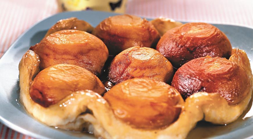Рецепт Персиковый пирог татэн