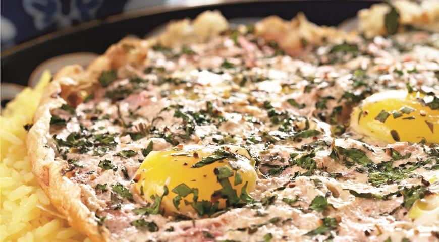 Рецепт Азербайджанский яичный плов (шешрянч-плов)