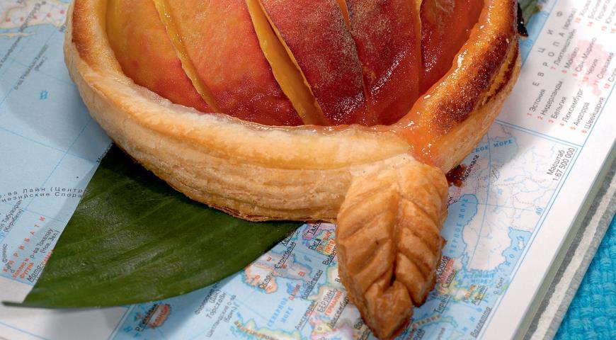 Рецепт Пирожки с персиками