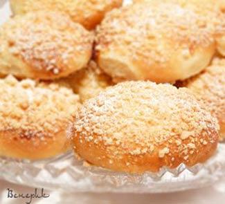 Рецепт Творожные пирожки со штройзелем