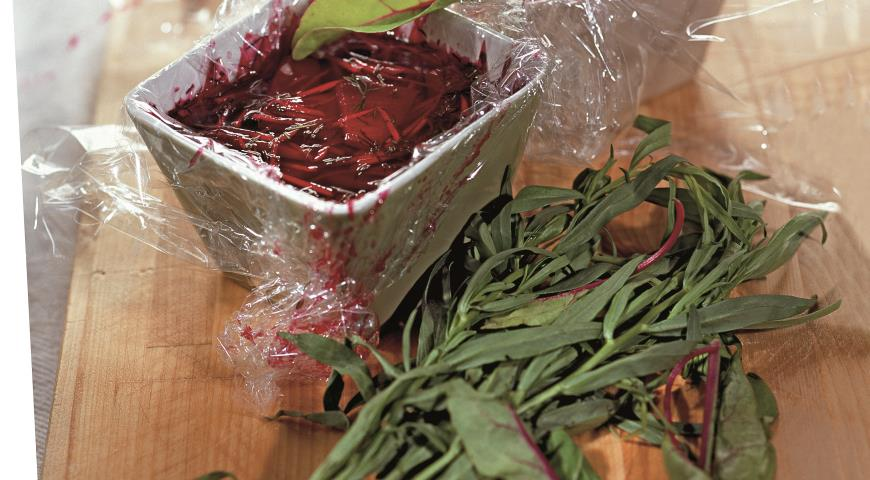 Рецепт Свекла в винном желе