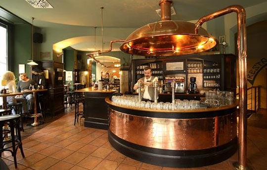 Kolkovna, ресторан в Праге