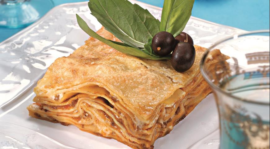 Рецепт Лазанья с уткой и розмарином