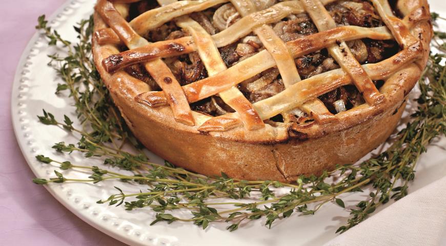 Рецепт Зимний мясной пирог