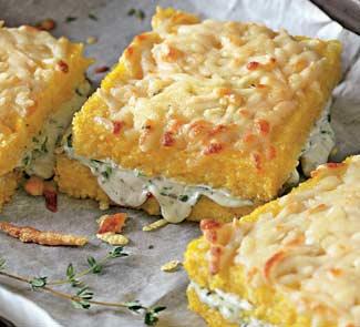 Рецепт Полента с сыром