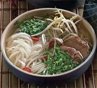 Рецепт Вьетнамский суп с рисовой лапшой