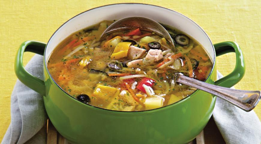 рецепты суп фото индюшатины из с