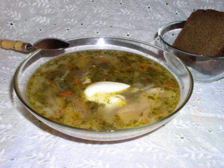 Рецепт Щи со щавелем