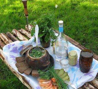 Рецепт Каша из топора по-сибирски
