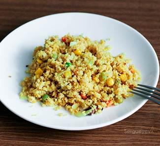 Рецепт Пшеничная каша в восточном стиле