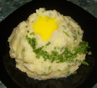 Рецепт Колканнон или картофельное пюре по-ирландски