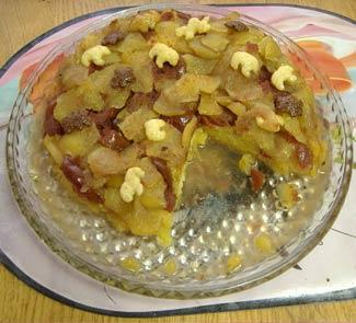 Рецепт Клюквенный пирог в желе