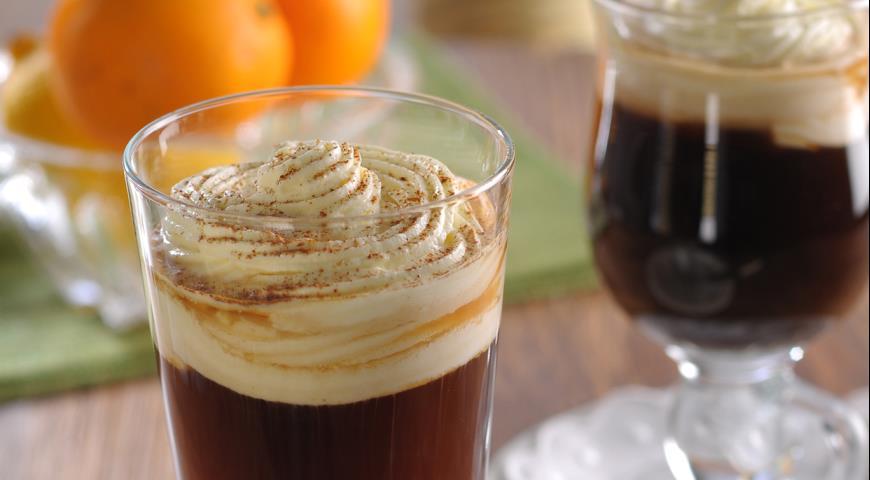 Рецепт Irish Coffee (кофе по-ирландски)