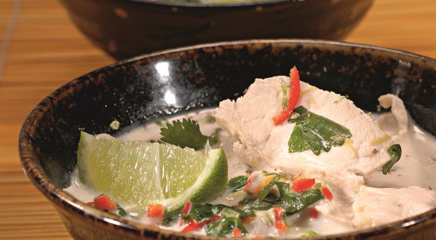 Рецепт Суп на кокосовом молоке